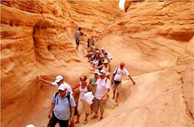 Ausflug nach Nuweiba den Colored Canyon ab Sharm El-Sheikh